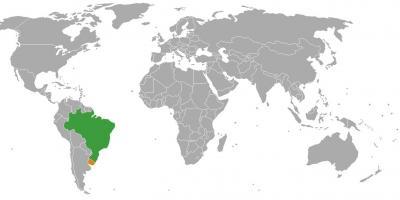 Uruguay Map Karten Uruguay South America Sudamerika